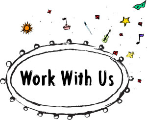 Work with us tab header